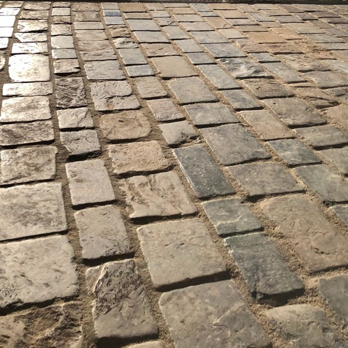 Cheesewring English Sandstone Cobbles