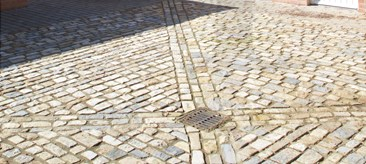 Purbeck and Pennant Blend Cobbles
